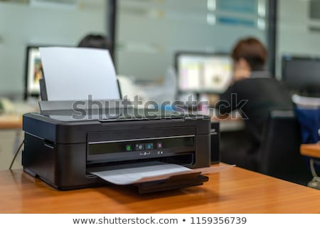 laserjet printer stock photo © vectorminator