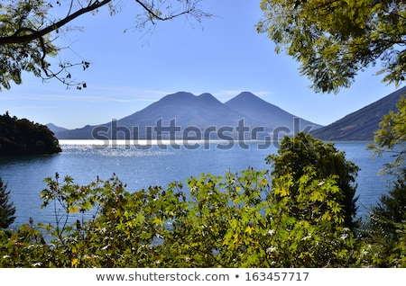 Panoraramic View Of Lake Atitlan Stock photo © THP