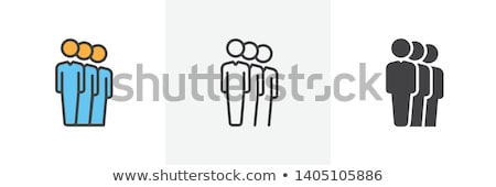 User Queue Vector Icon Stock photo © ahasoft