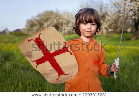 楽しい · 騎士 · ワイン · ドリンク · 赤 · デジタル - ストックフォト © julientromeur