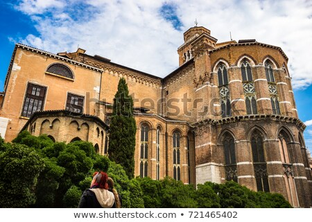 Detail of Basilica dei Santi Giovanni e Paolo, known in Venetian as San Manipolo,One of the largest  Stock photo © Virgin