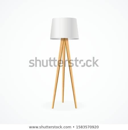 Gerçekçi lamba simge para yalıtılmış ışık Stok fotoğraf © sanyal