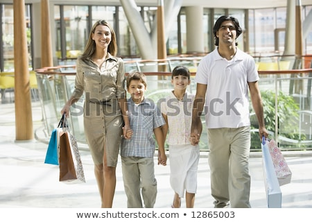 familie · man · kind · lopen - stockfoto © monkey_business