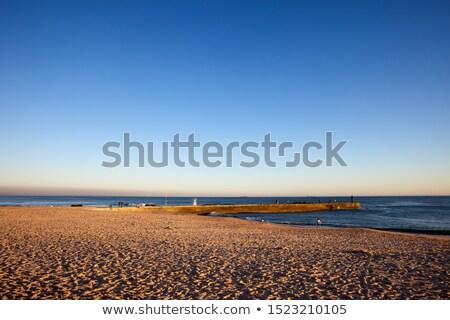 桟橋 海 水 海 ストックフォト © rognar