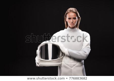 serious woman astronaut Stock photo © studiostoks