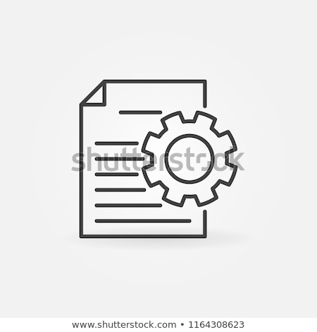 dokumentu · pliku · wektora · ikona · narzędzi - zdjęcia stock © kyryloff