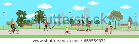 ingesteld · speelgoed · schets · cartoon · illustratie · kind - stockfoto © robuart