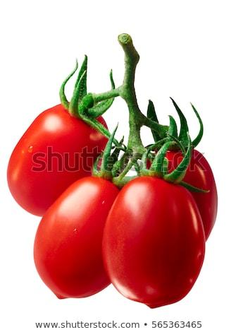 Romani ameixa tomates fresco comida Foto stock © maxsol7
