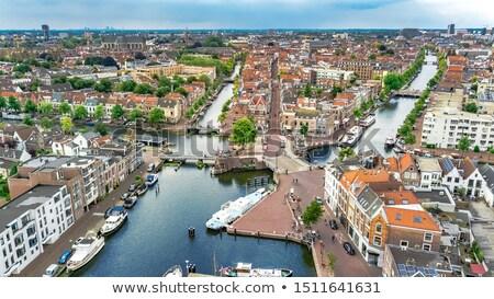 Нидерланды мнение небольшой пешеход улице Сток-фото © neirfy