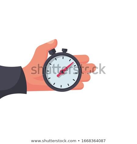 Sport Stopwatch, Isolated Cartoon Vector Icon Stock photo © robuart