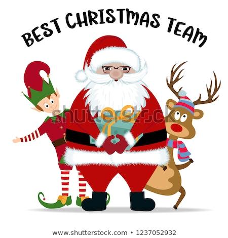Legjobb kívánságok öröm boldog új évet vidám karácsony Stock fotó © robuart