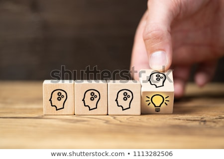 Business people teamwork and innovation ideas concept  Stock photo © ichiosea