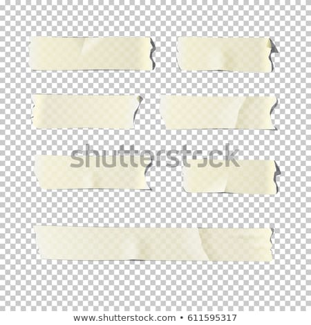 Stock photo: vector set of adhesive tape
