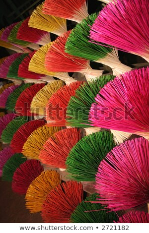 colorful joss sticks in vietnam stock photo © bbbar