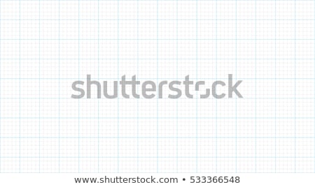 Milímetro red cuadrados gráfico papel Foto stock © olehsvetiukha