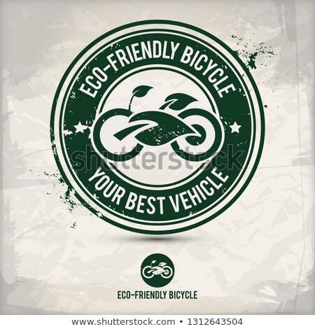 alternative eco activity stamp stock photo © szsz