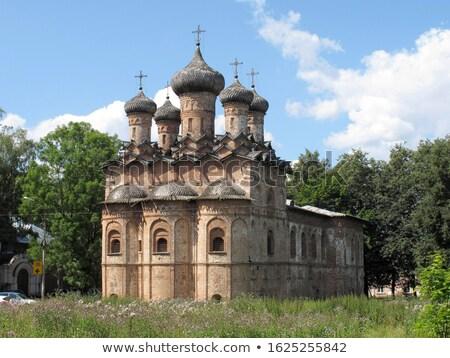 church of the Holy Trinity, Veliky Novgorod Stock photo © borisb17