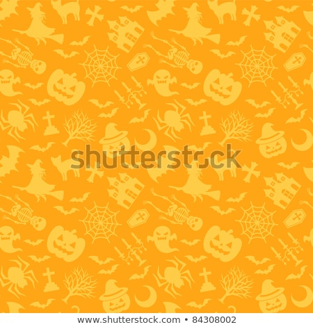 Halloween esqueleto bat abóbora festa celebração Foto stock © furmanphoto