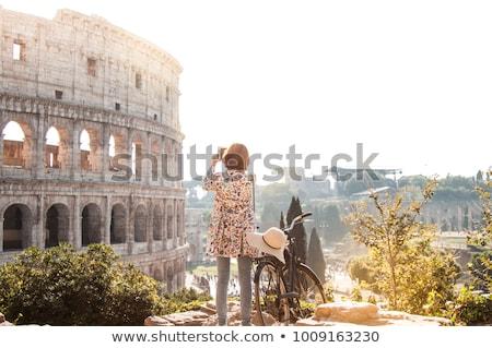 Turistas Roma antigo ruínas Grécia Foto stock © robuart