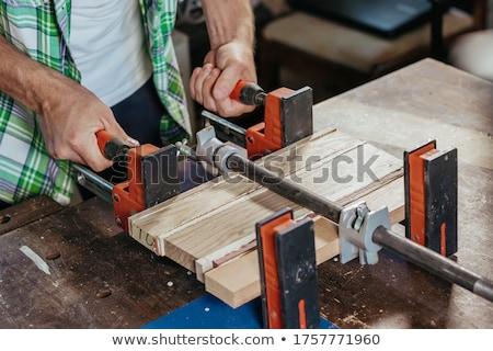 Planing board for furniture making. Stock photo © vystek