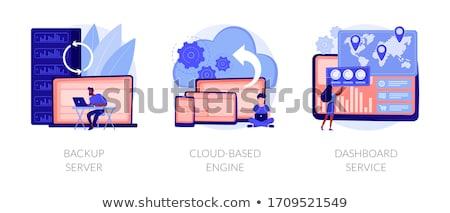 Server hardware maintenance vector concept metaphor Stock photo © RAStudio