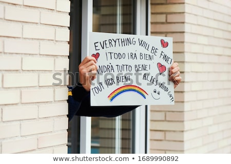 everything will be fine in different languages Stock photo © nito