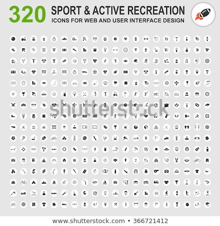 активный отдых вектора цвета иконки Сток-фото © ayaxmr
