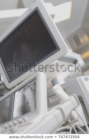Roentgen Machinery and Screen with Lights Clinic Stock photo © robuart
