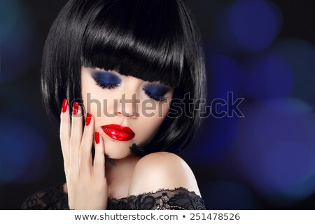 temptation alluring glamour beautiful girl Stock photo © fotoduki