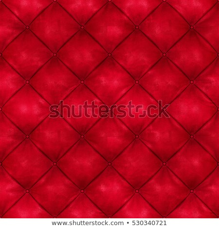 Red upholstery texture Stock photo © tilo