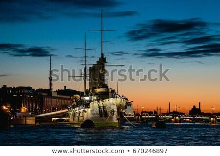 cirkáló · kép · víz · tenger · csónak - stock fotó © paha_l