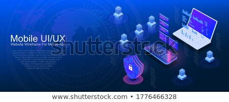 Computer security shield Stock photo © fenton