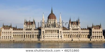 Budapest parlamento Hungría Foto stock © adamr