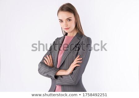 Traje de negócios empresário formal negócio desgaste escritório Foto stock © aremafoto