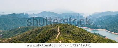 Reservatório Hong Kong céu água beleza montanha Foto stock © kawing921