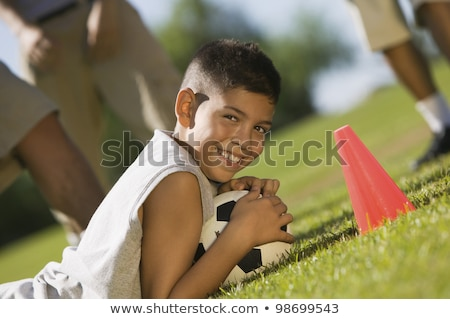 Teen athlete tilt Stock photo © stevemc