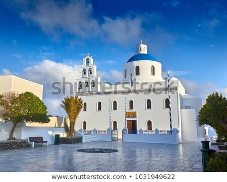 Church of Panagia of Platsani, Oia, Santorini Greece Stock photo © Elenarts