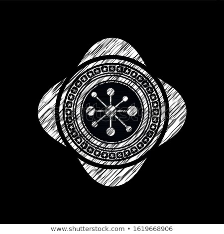 kara · tahta · zarf · karanlık · örnek · Internet · iletişim - stok fotoğraf © bbbar