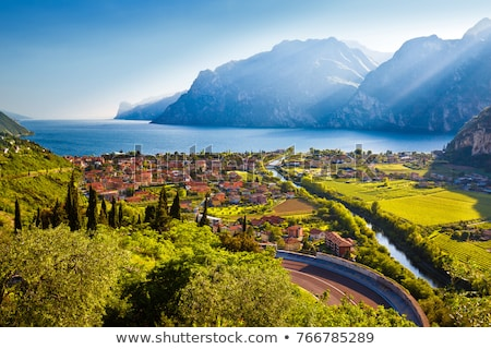 Sunset (Lago di Garda, Italy)  Stock photo © frank11