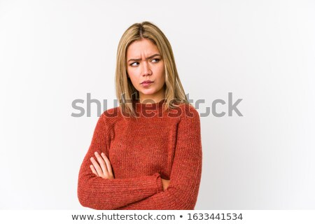 Portrait of an inquisitive woman Stock photo © photography33