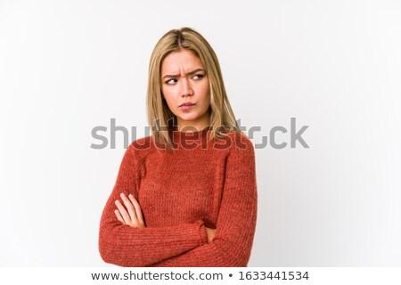 肖像 · インド · 女性 · ポーズ - ストックフォト © photography33