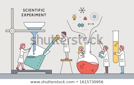 Experiment in the Laboratory Stock photo © photography33