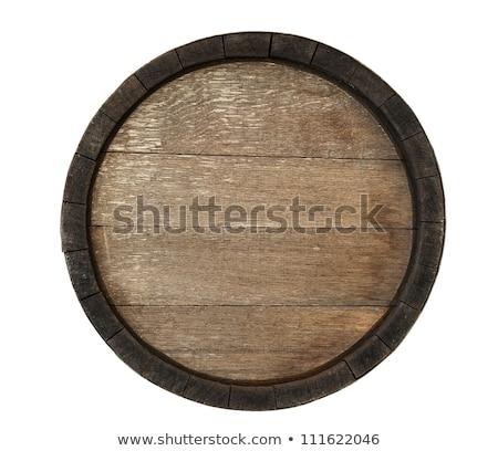 frontal wine cask Stock photo © prill
