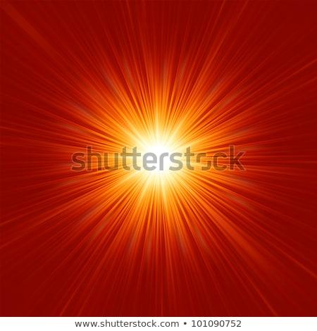 illustration · rouge · star · or · eps · vecteur - photo stock © beholdereye