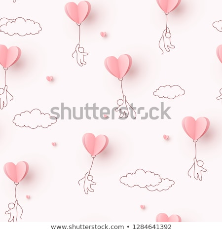 Vector diary with heart for Valentines Day  Stock photo © Elisanth