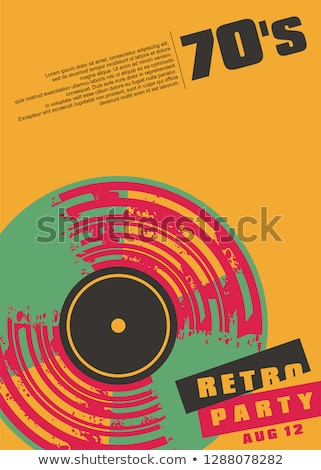 vinyl record grunge composition Stock photo © robertosch
