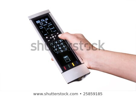 Silver Universal Remote Control stock photo © dbvirago