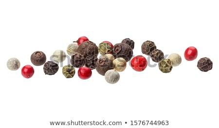 Black peppercorns Stock photo © sarahdoow