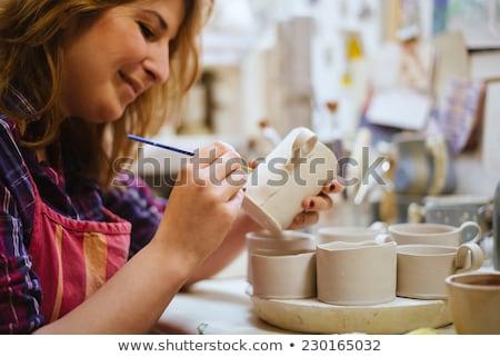 Pottery Painting Stock photo © ozgur