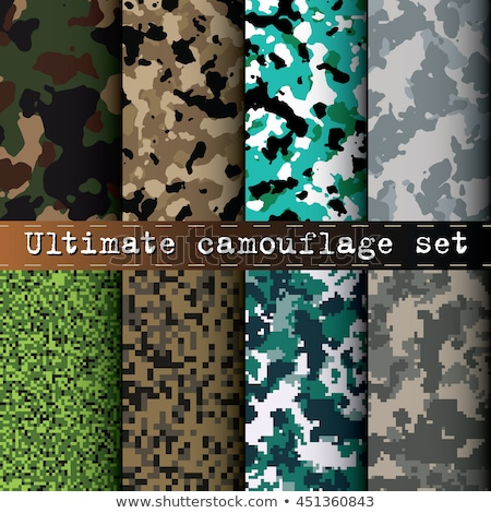Desert Camouflage. Seamless Tileable Texture. Stock photo © tashatuvango